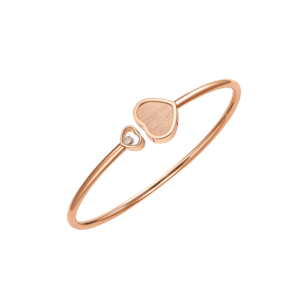 HAPPY HEARTS BANGLE ROSE GOLD 85A007-5022