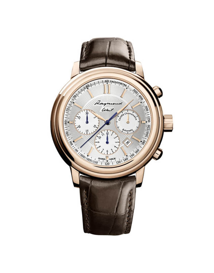 Raymond Weil - MAESTRO 19CT ROSE GOLD COMP