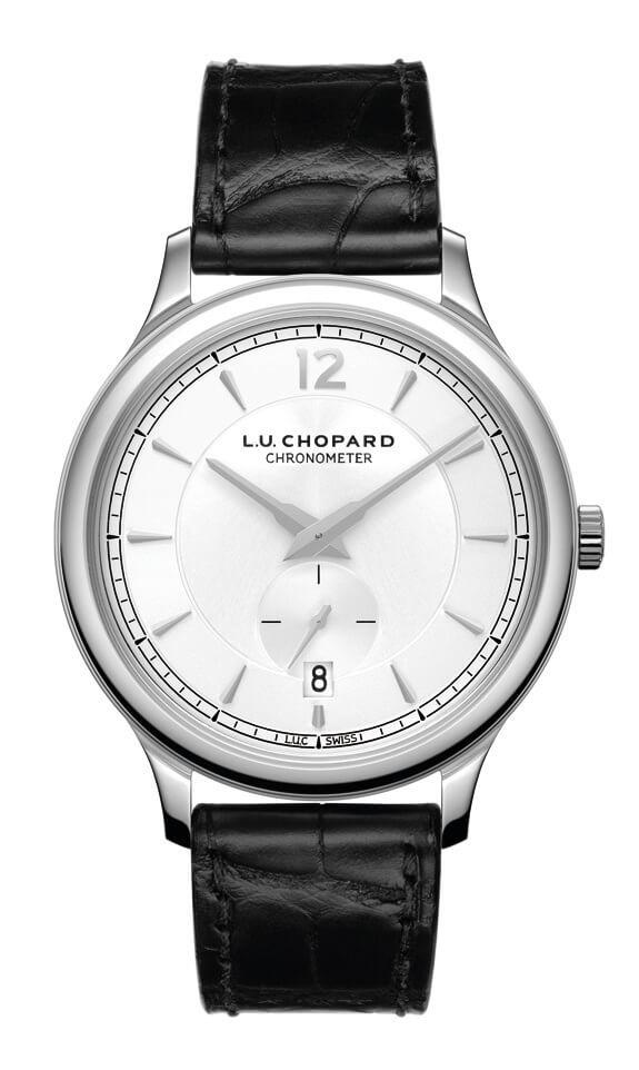 Chopard - L.U.C. XPS STEEL AUTO, SLV DIA