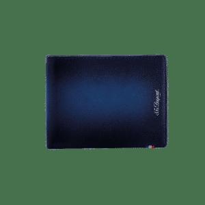 S.t.dupont - BILLFOLD 6ACC ATELIER BLUE