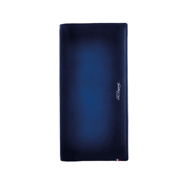 S.t Dupont - LONG WALLET COIN ATELIER BLUE
