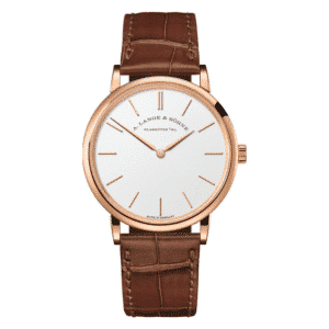 A. Lange & Söhne - SAXONIA THIN ROSE GOLD 201.033
