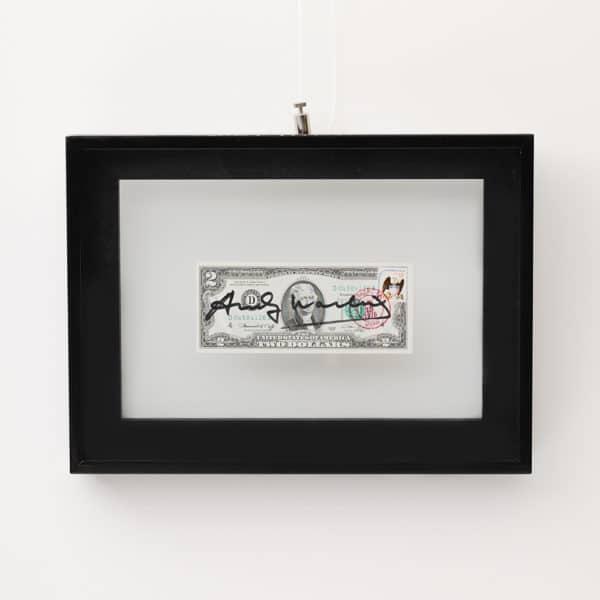 Andy Warhol 2 dollar