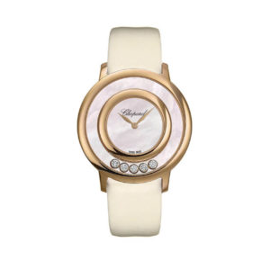 Chopard - HAPPY DIAMONDS WATCH RG MOP