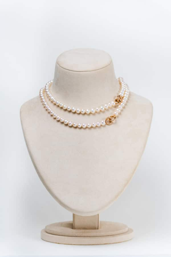 NECKLACE RG 24B G-VS FWP 7.5-8