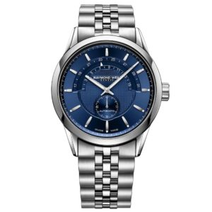 Raymond Weil - FREELANCER GENTS 42MM STEEL BLUE DIAL