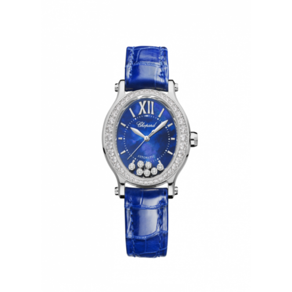 Chopard - HAPPY SPORT WATCH WG DI BEZ BLUE MOP DIA
