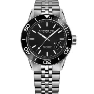 Raymond Weil - FREELANCER STEEL BLACK INDEX