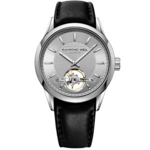 Raymond Weil - FREELANCER SILVER INDEX OPEN BALANCE L