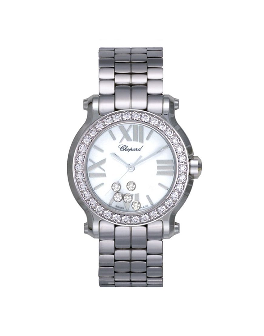 Chopard - HAPPY SPORT MINI GEN STEEL DIA