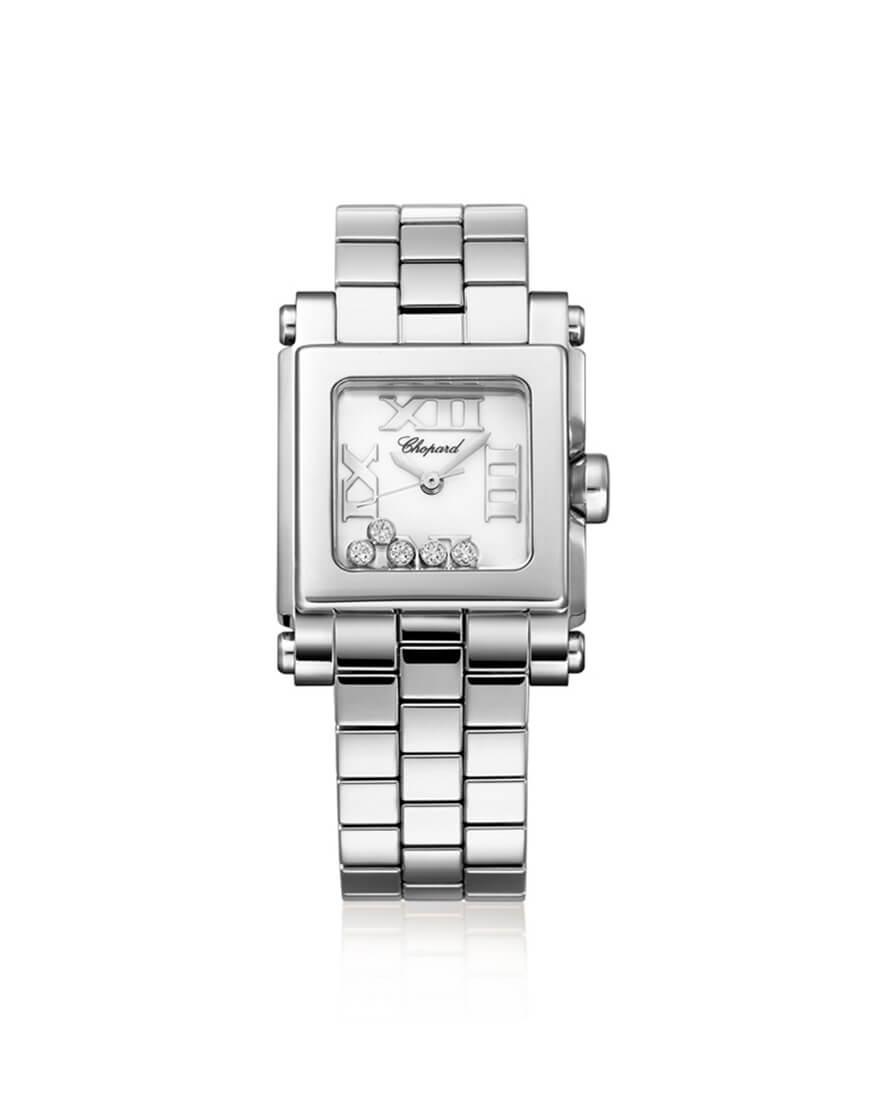 Chopard - HAPPY SPORT SQ SMALL 5BR STEEL