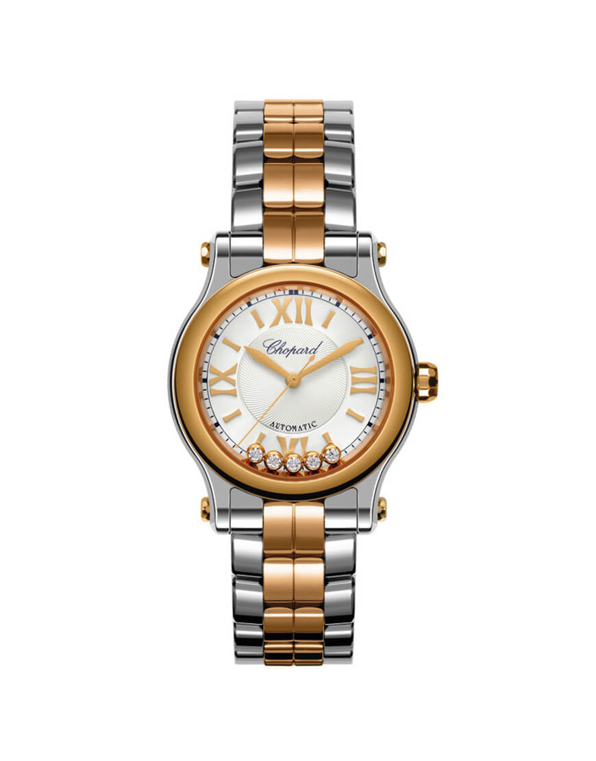 Chopard - HAPPY SPORT MED AUTO ST/RG