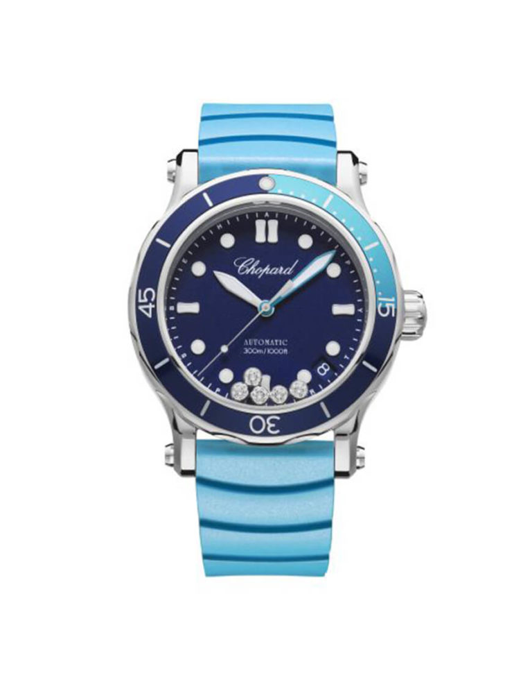 Chopard - WATCH HAPPY SPORT STEEL AUTO BLUE DIAL