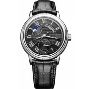 Raymond Weil - MAESTRO STEEL BLACK RO LEATHER