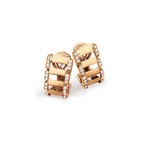 Patek Philippe - TWENTY-4 RG EARRINGS W/DIAM