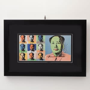 Mao Ticket Andy Warhol