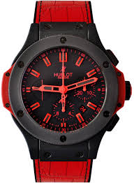 Hublot - BB 44MM ALL BLACK RED LTD 500