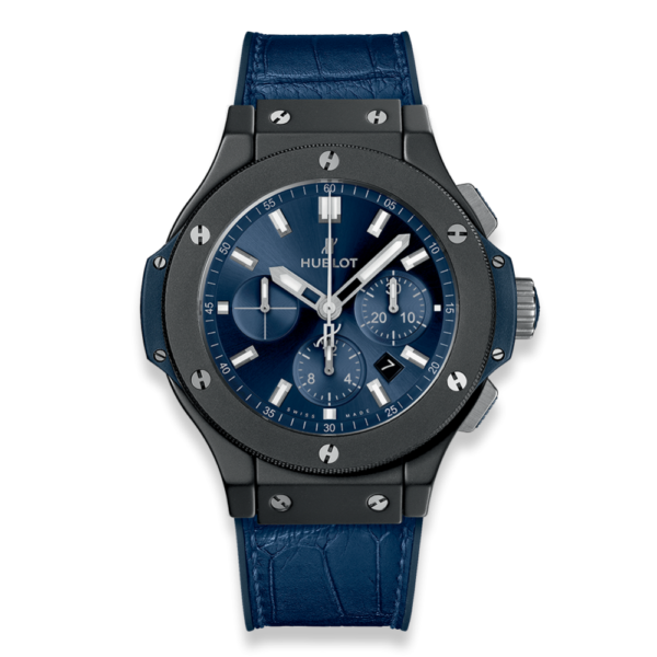 Hublot - BIG BANG 44 AUT CHRONO BLUE DI,BLK CER