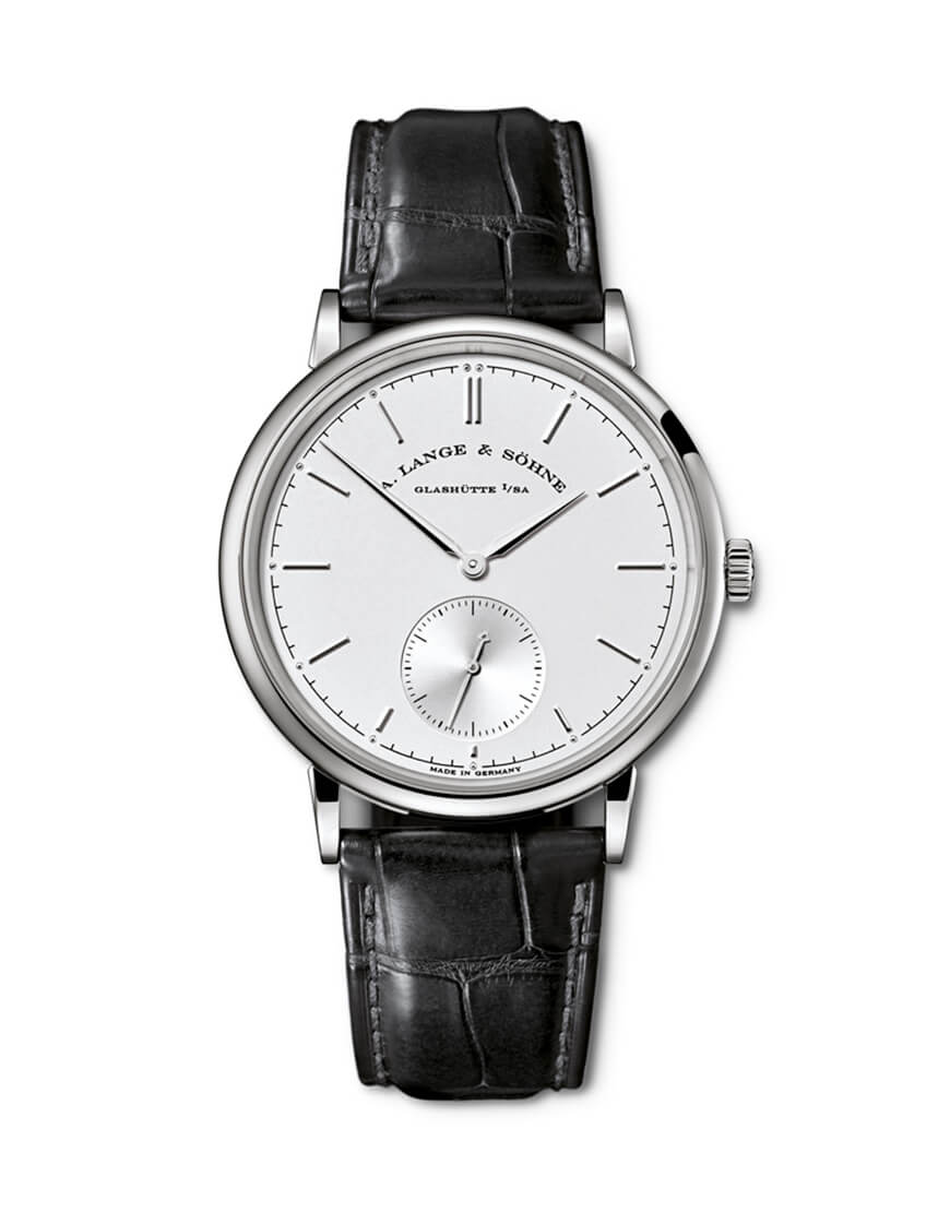 Lange & Sohne - SAXONIA AUTOMATIC WG SILV IND