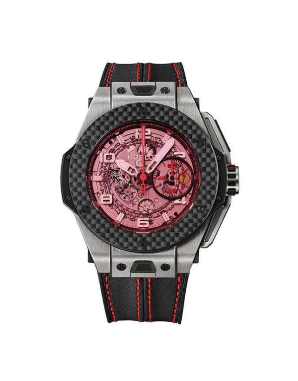 Hublot - BB UNICO FERRARI TI CARBO