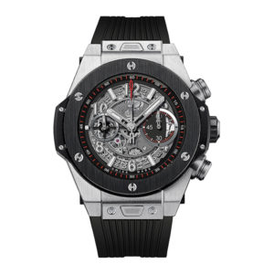 Hublot - BB 45MM UNICO TI RHOD PLATED