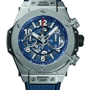Hublot - BIG BANG 45 AUTO CHR TIT BLUE