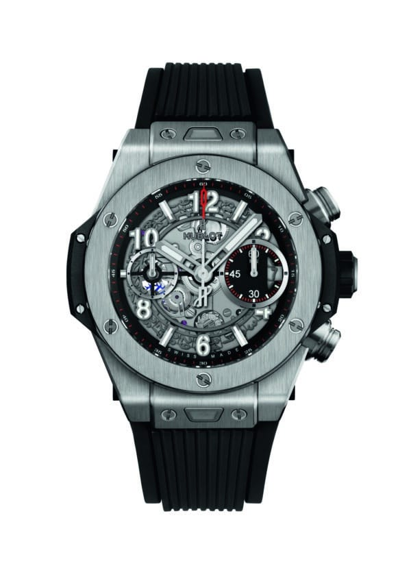 Hublot - BIG BANG 42 AUTO CHR UNICO TI