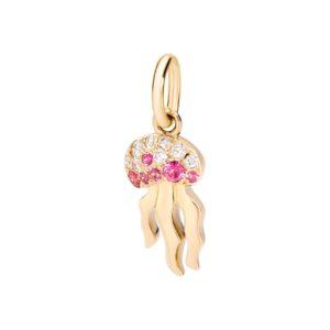 Gold Jellyfish charm