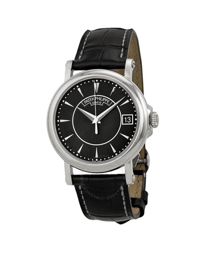 Patek Philippe - CALATRAVA WG BLACK INDEX DIAL
