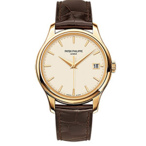 Patek Philippe - GENTS CALATRAVA YG IVORY INDEX