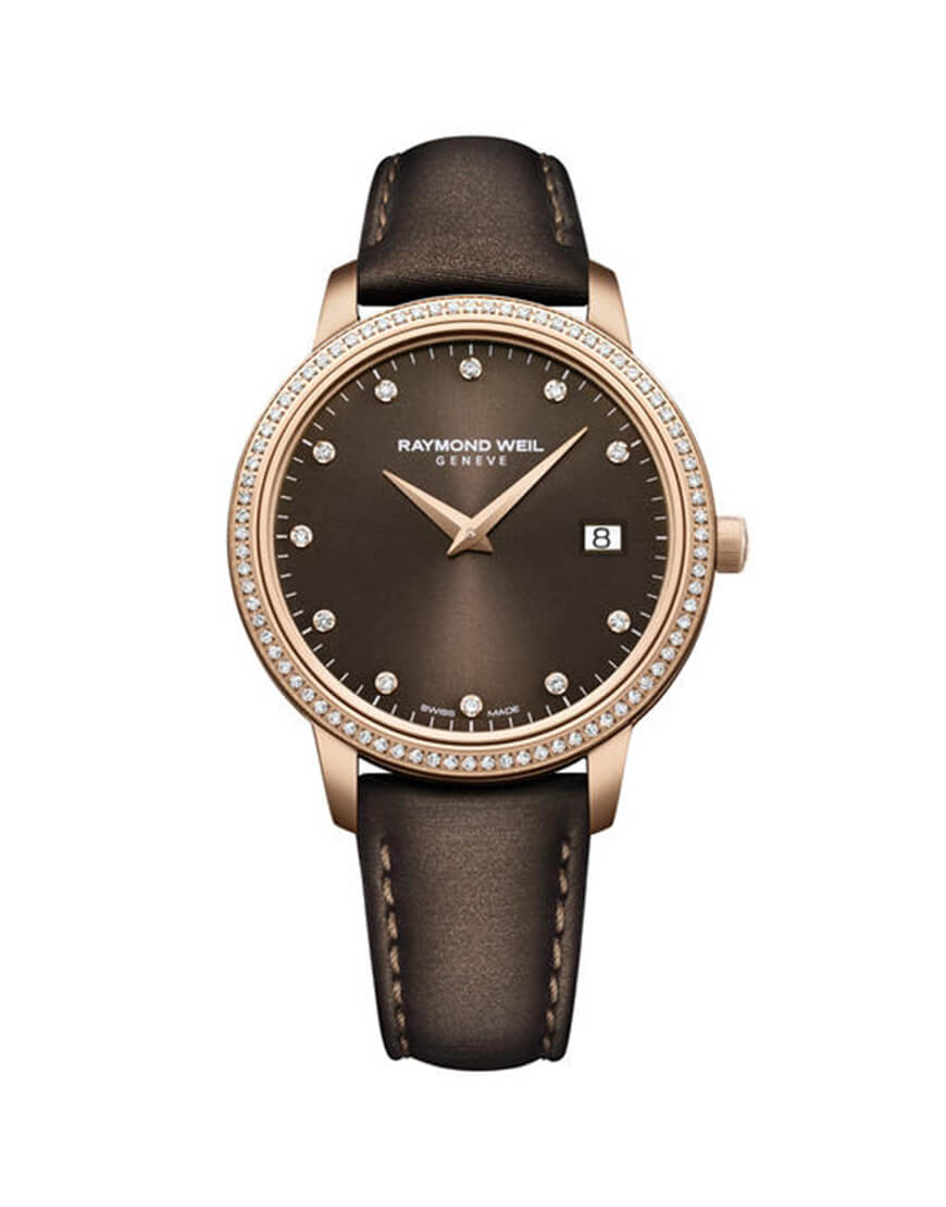 Raymond Weil - TOCCATA LADIES RGP BROWN DIAM