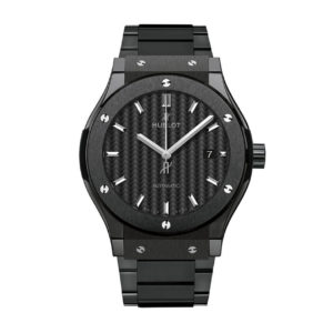 Hublot - CF  BLACK CERAMIC BRAC.