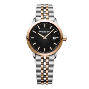 Raymond Weil - FREELANCER LADIES BLACK INDEX STG