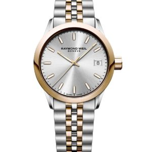 Raymond Weil - FREELANCER LADIES ST/RG SILVER