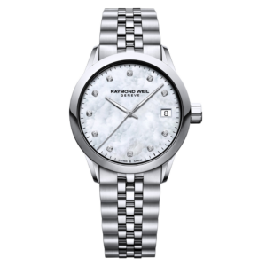 Raymond Weil - FREELANCER STEEL LADIES MOP DIAMONDS