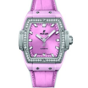 Hublot - SPIRIT OF BIG BANG PINK CERAMIC TI DIAM