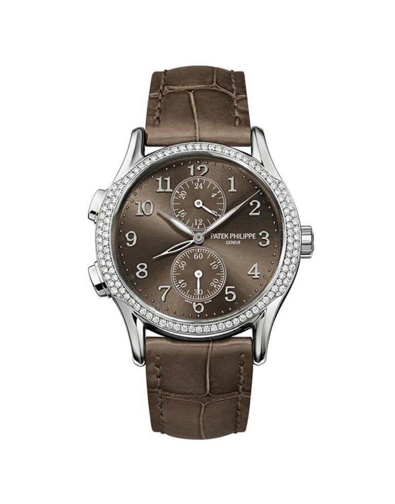 Patek Philippe - LADIES COMP MANUAL WG DIA GMT