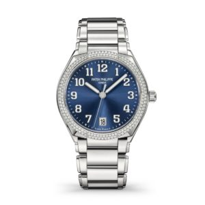 Patek Philippe - TWENTY-4 36 STEEL DIAM BLUE