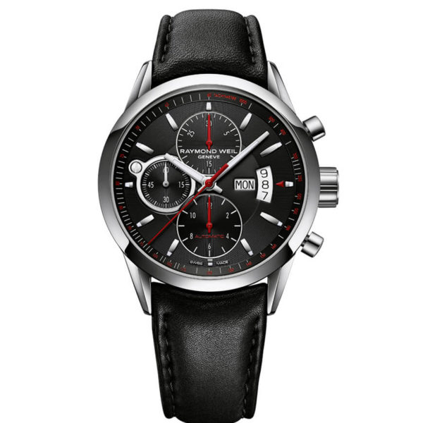 Raymond Weil - FREELANCER BLACK INDEX RED ZON
