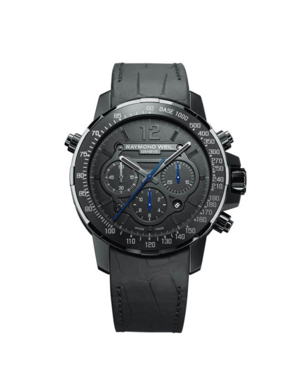 Raymond Weil - NABUCCO STEEL BLACK INDEX
