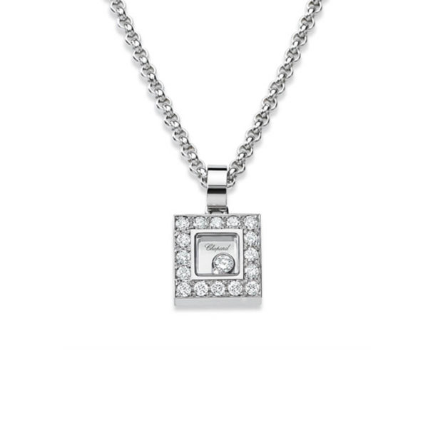 Chopard - HAPPY DIAMOND SQ WG DIAM PEND