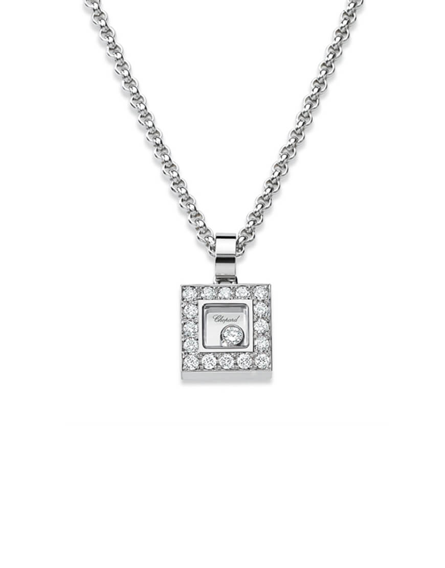 Chopard - HAPPY DIAMONDS WG 16 DIAM 1BR