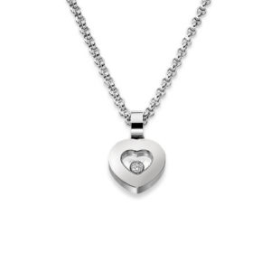 Chopard - HAPPY DIAMOND PENDANT WG HEART