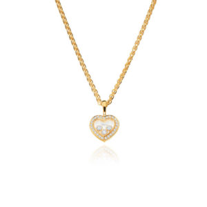 Chopard - HAPPY DIAMS HEART YG DIAMS 3BR