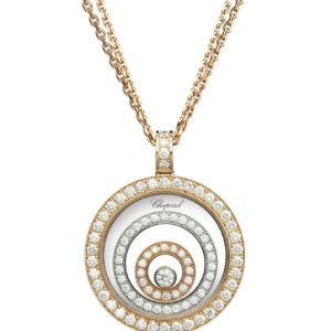 Chopard - HAPPY SPIRIT PEND WG/RG DIAMONDS