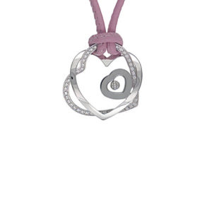 Chopard - HAPPY DIAM PEND HEART SM CORD