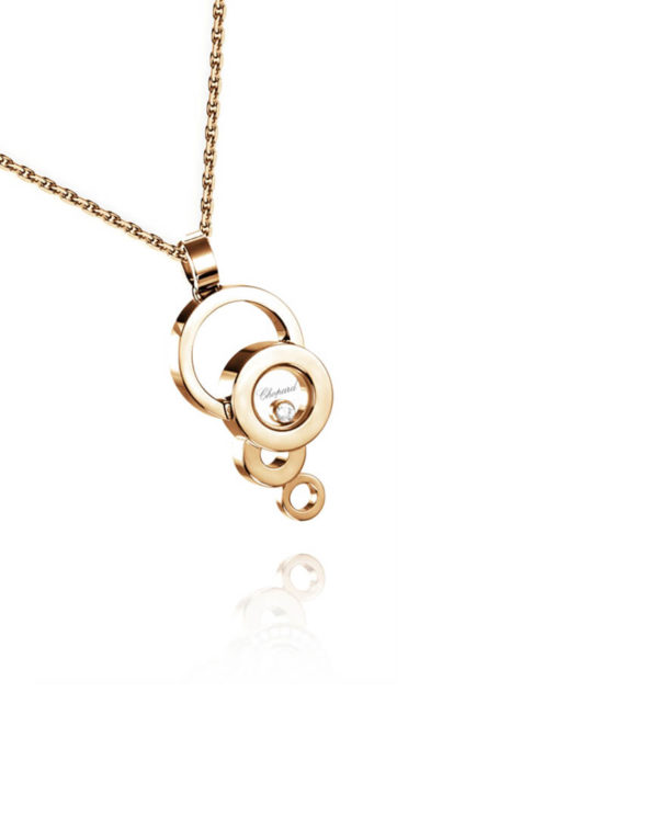 Chopard - HAPPY DIAMONDS RG BUBBLE PEND