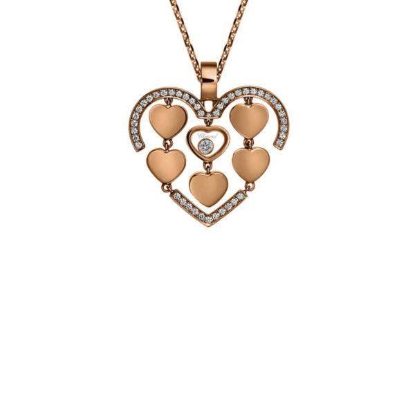 Chopard - HAPPY AMORE RG DIAMONDS PEND