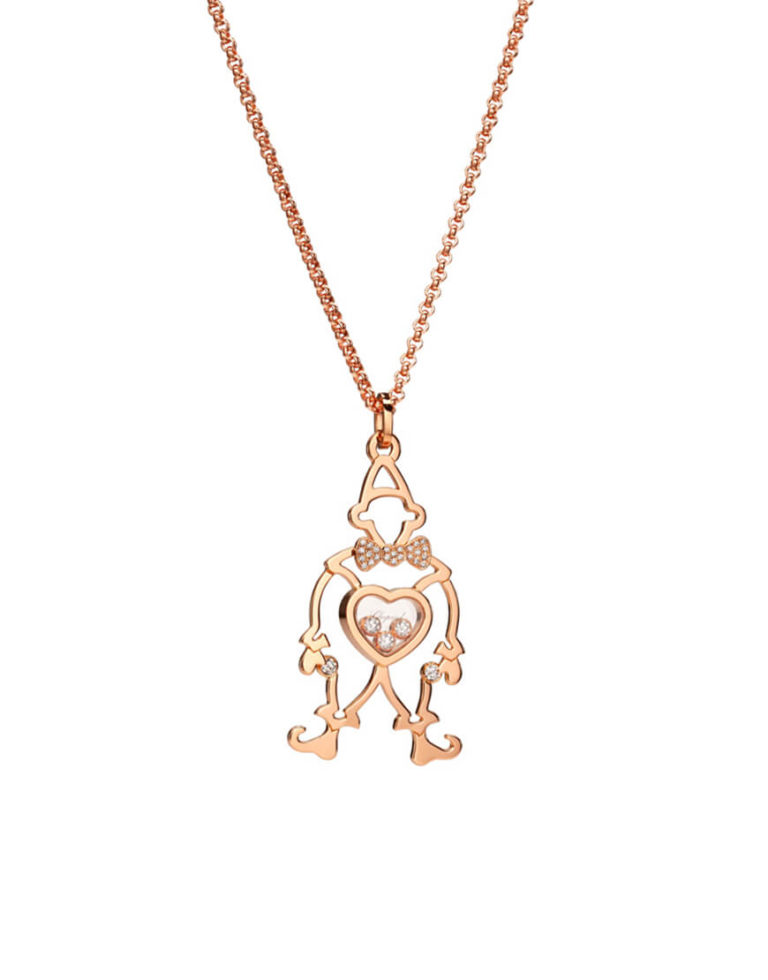 Chopard - HAPPY DIAMOND CLOWN RG PENDANT