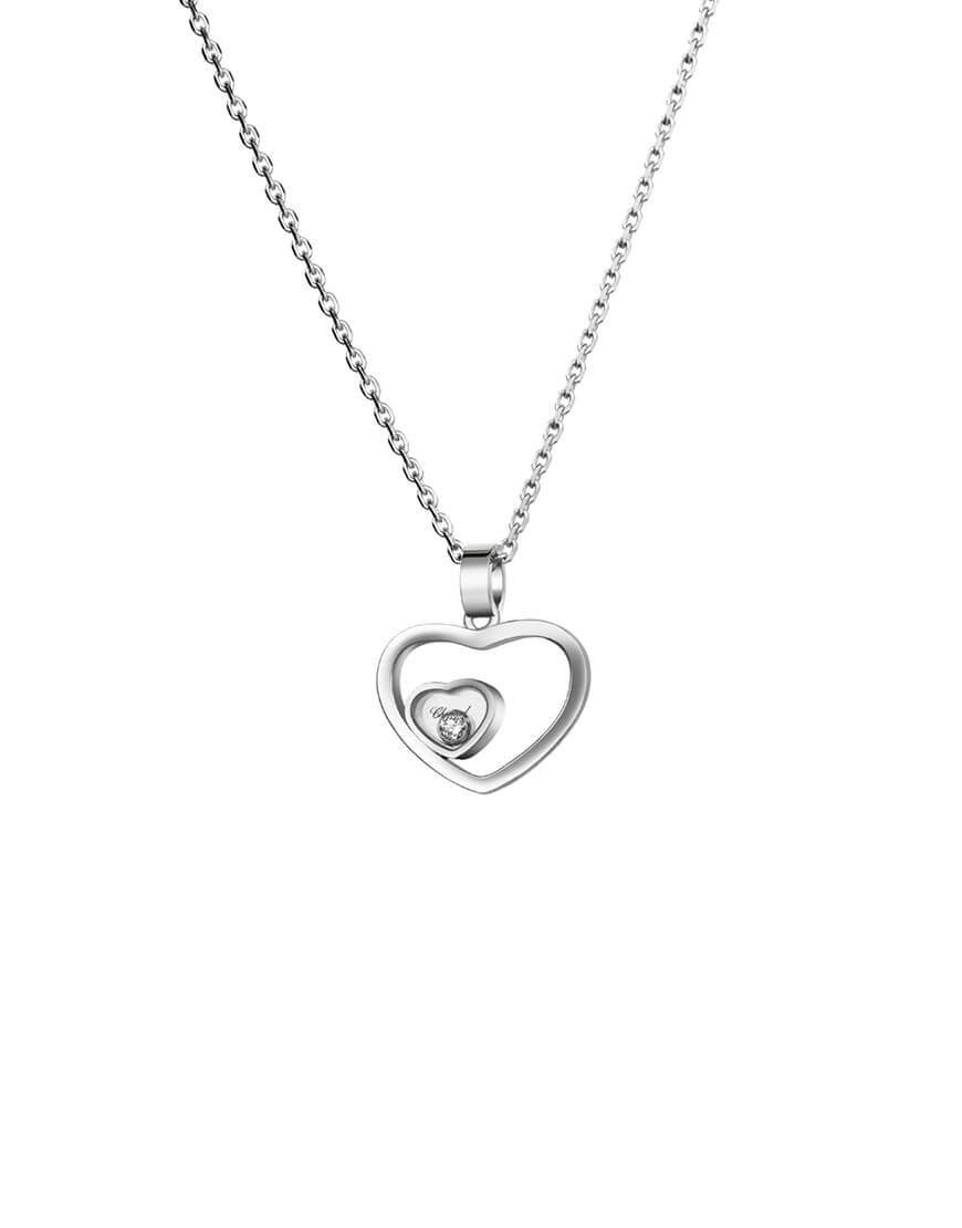 Chopard - HAPPY HEARTS WG PENDANT 1BR
